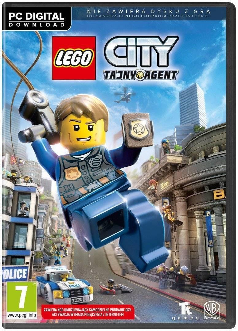 Gra Pc Lego City Tajny Agent Gry Pc Opinie Cena Sklep