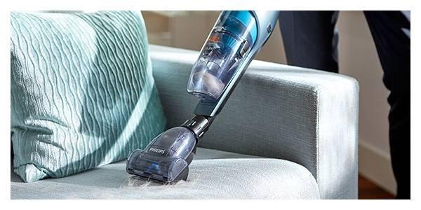 Philips Sprzątnij każdy zakamarek. Odłączany odkurzacz ręczny z mini turboszczotką