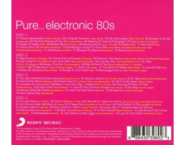 Pure...Electronic 80s