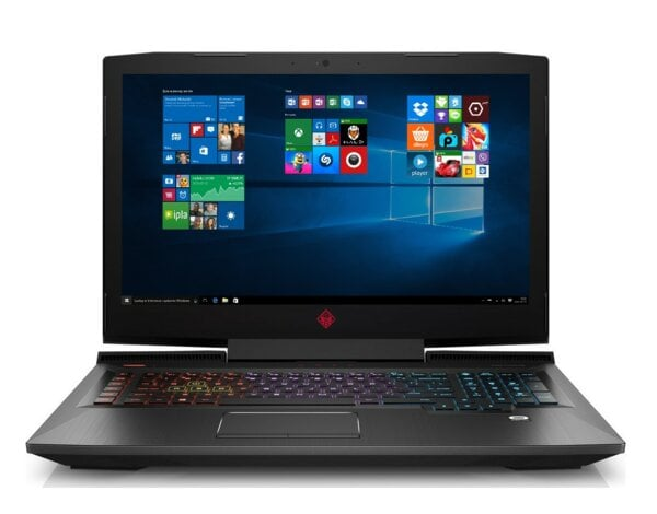 Laptop HP Omen 17-an112nw i7-8750H/8GB/256GB SSD/GTX1050Ti/Win10H