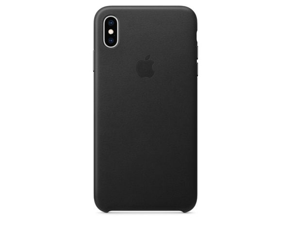 Etui APPLE Leather Case do Apple iPhone XS Max Czarny MRWT2ZM/A
