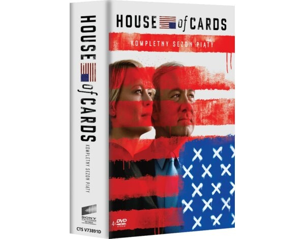 House Of Cards. Sezon 5 (4DVD)