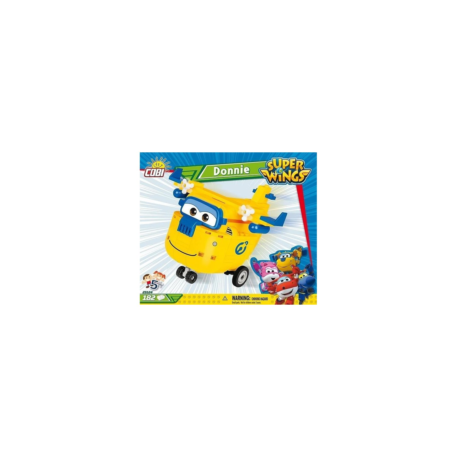 Klocki COBI Super Wings - Donnie (25124)