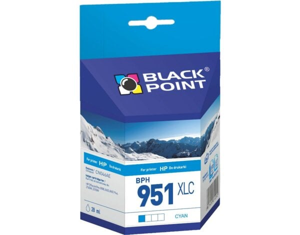 Tusz BLACK POINT BPH951XLC Zamiennik HP CN046AE