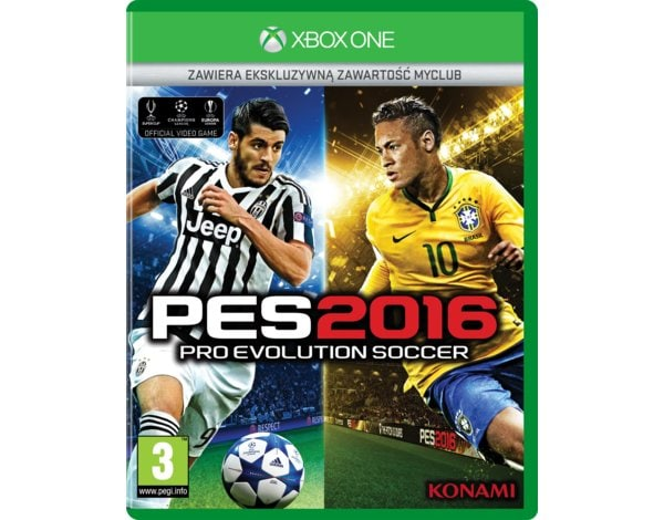 Gra Xbox One Pro Evolution Soccer 2016 - Day One Edition