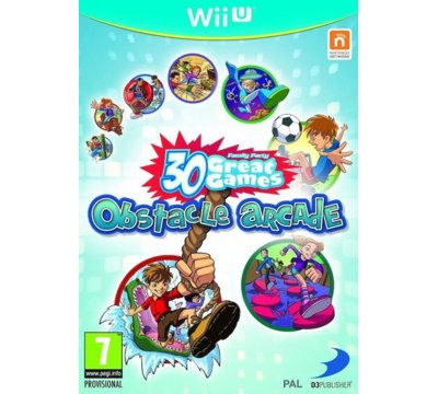 Gra Wii U CENEGA Family Party: 30 Great Games Obstacle Arcade