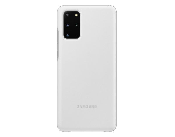 Etui SAMSUNG Clear View Cover do Galaxy S20+ Biały EF-ZG985CWEGEU