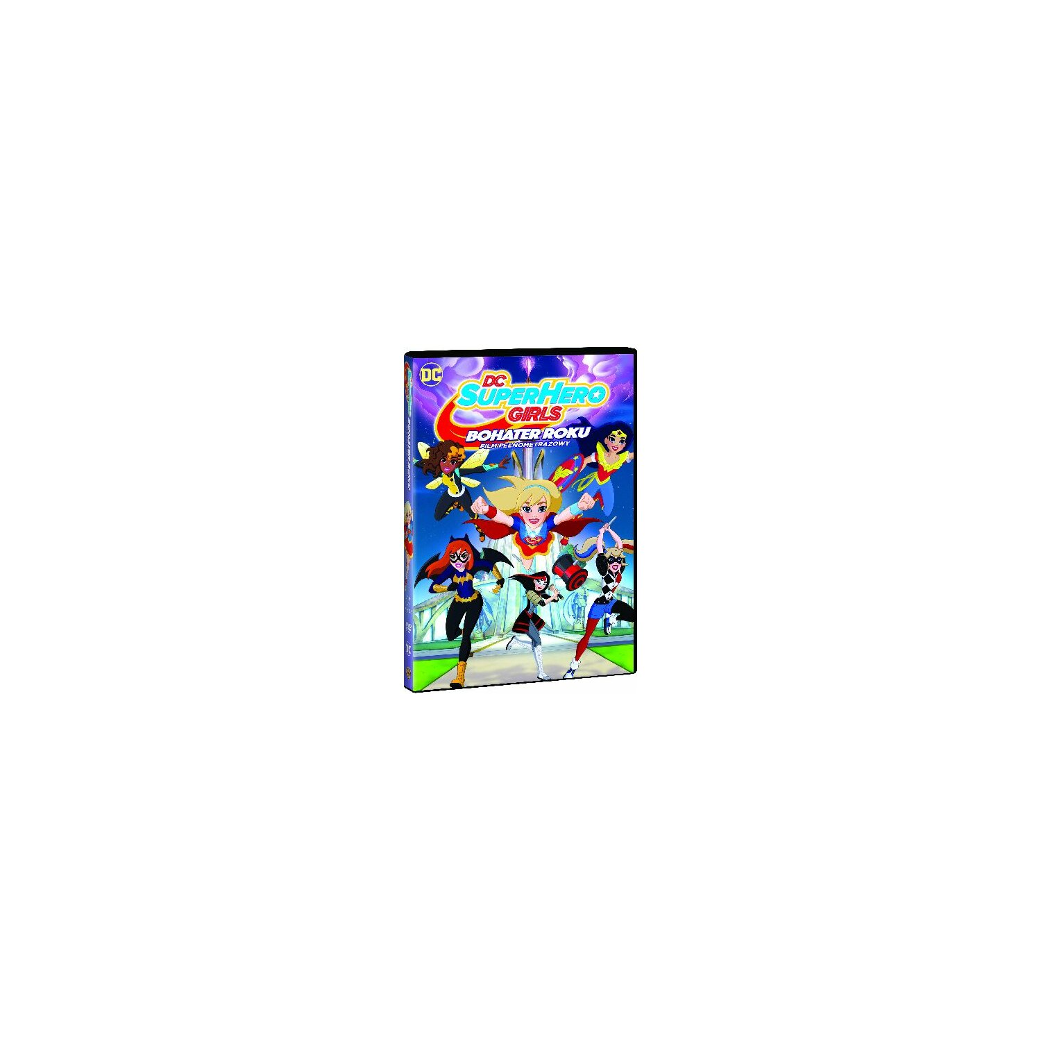 DC Super Hero Girls: Bohater Roku (DVD)