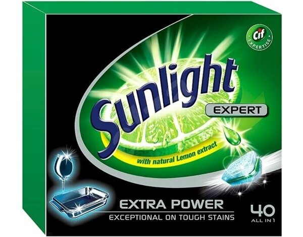 Tabletki do zmywarki SUNLIGHT Expert Extra Power 40 szt.