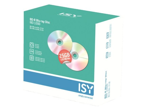 Płyta ISY IBD 1000 BLURAY JEWEL CASE 5szt