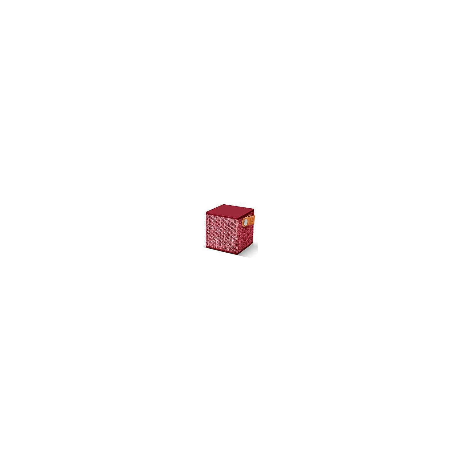 Głośnik Bluetooth FRESH N REBEL Rockbox Cube Fabriq Edition Ruby