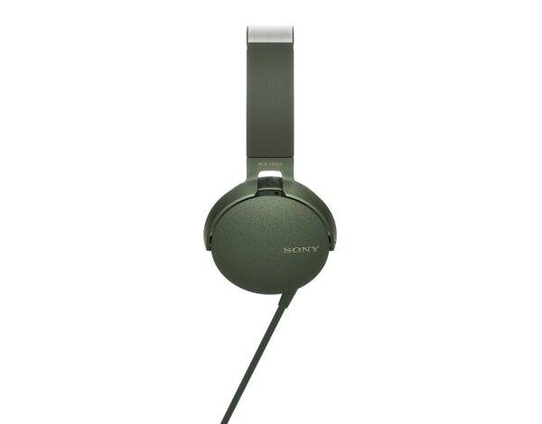 Słuchawki SONY MDR XB550AP Zielony