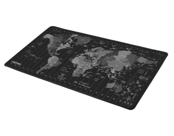 Podkładka Pod Mysz I Klawiaturę Natec Time Zone Map Maxi