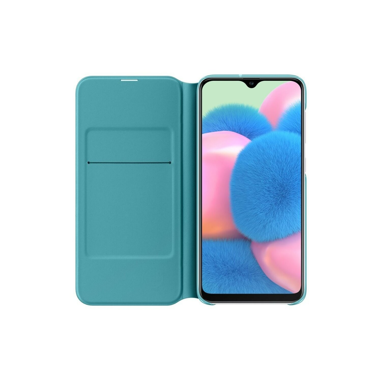 Etui SAMSUNG Wallet Cover do Galaxy A30s Biały EF-WA307PWEGWW
