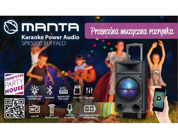 System audio MANTA SPK5000 Buffalo