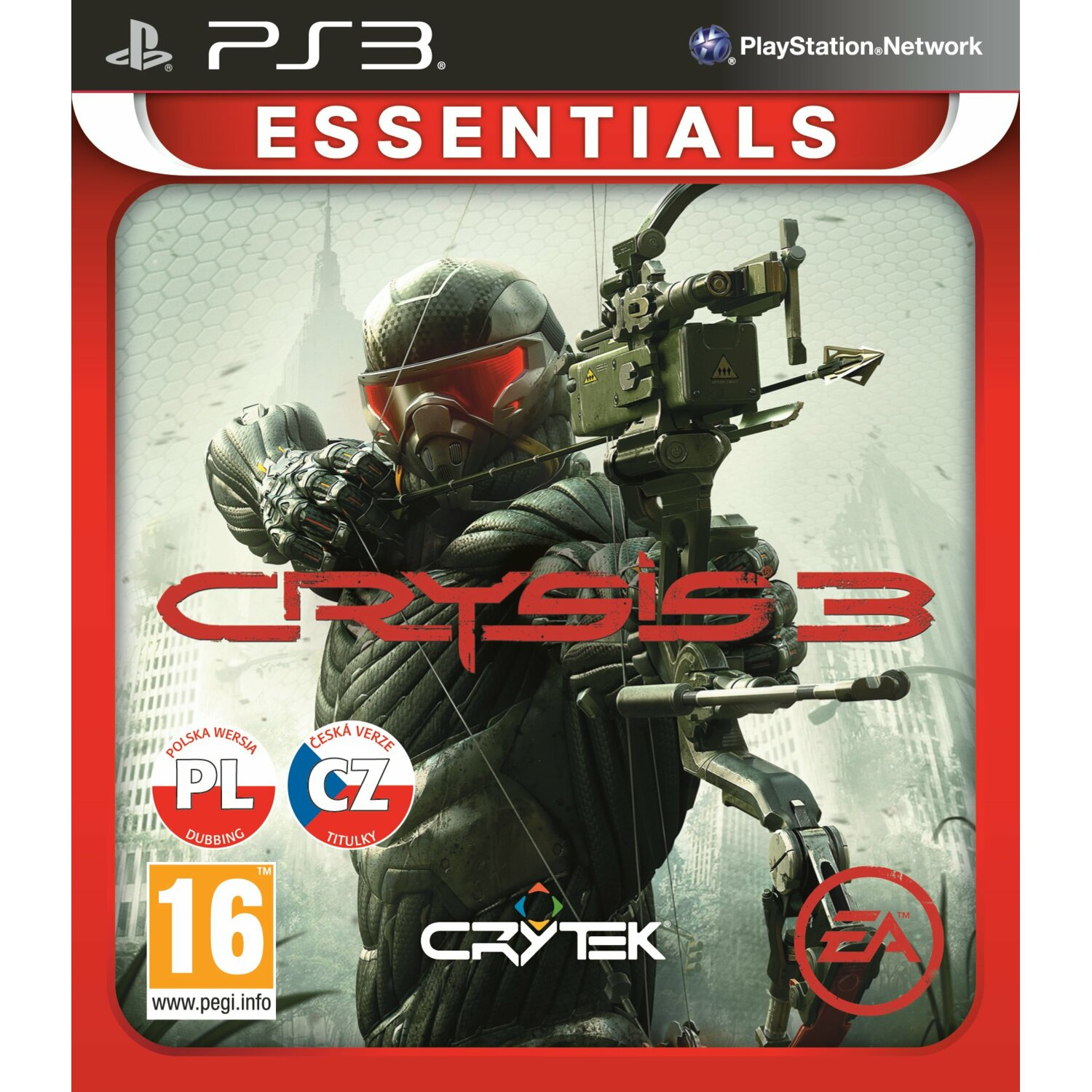 Gra PS3 ELECTRONIC ARTS Crysis 3 Essentials