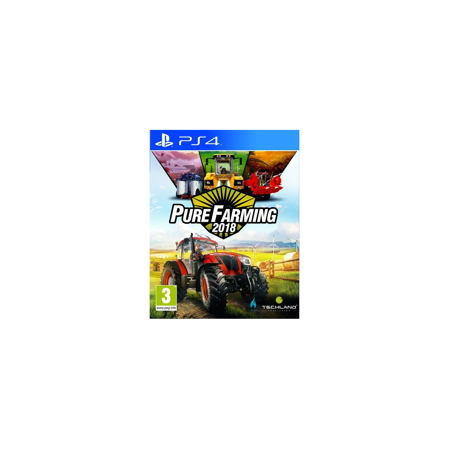 Gra PS4 Pure Farming 2018