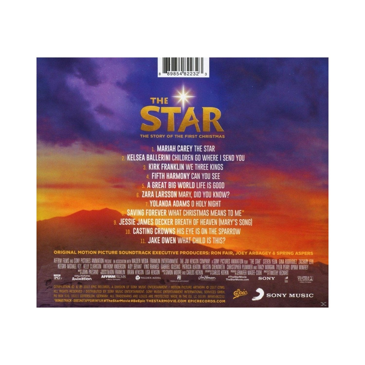 THE STAR - ORIGINAL MOTION PIC