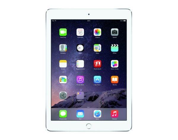 Tablet APPLE iPad Air 2 16GB Wi-Fi Srebrny MGLW2FD/A