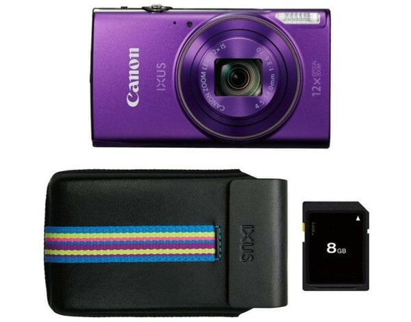 Aparat CANON IXUS 285 HS Purpurowy Essential kit