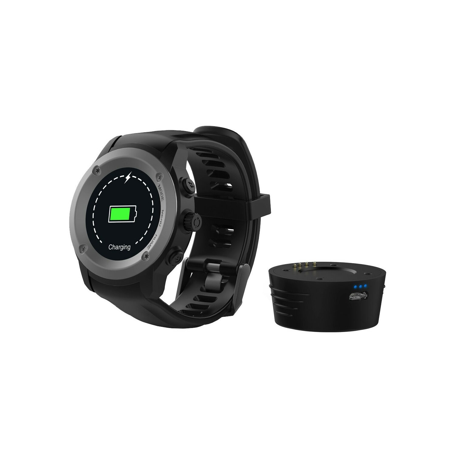 SmartWatch MAXCOM Fitgo FW17 Power Czarny