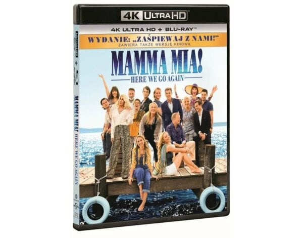 Mamma Mia! Here We Go Again 4K (2BD)