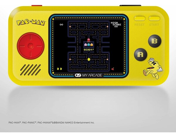 Konsola MY ARCADE Pocket Player Pac-Man 3 in 1
