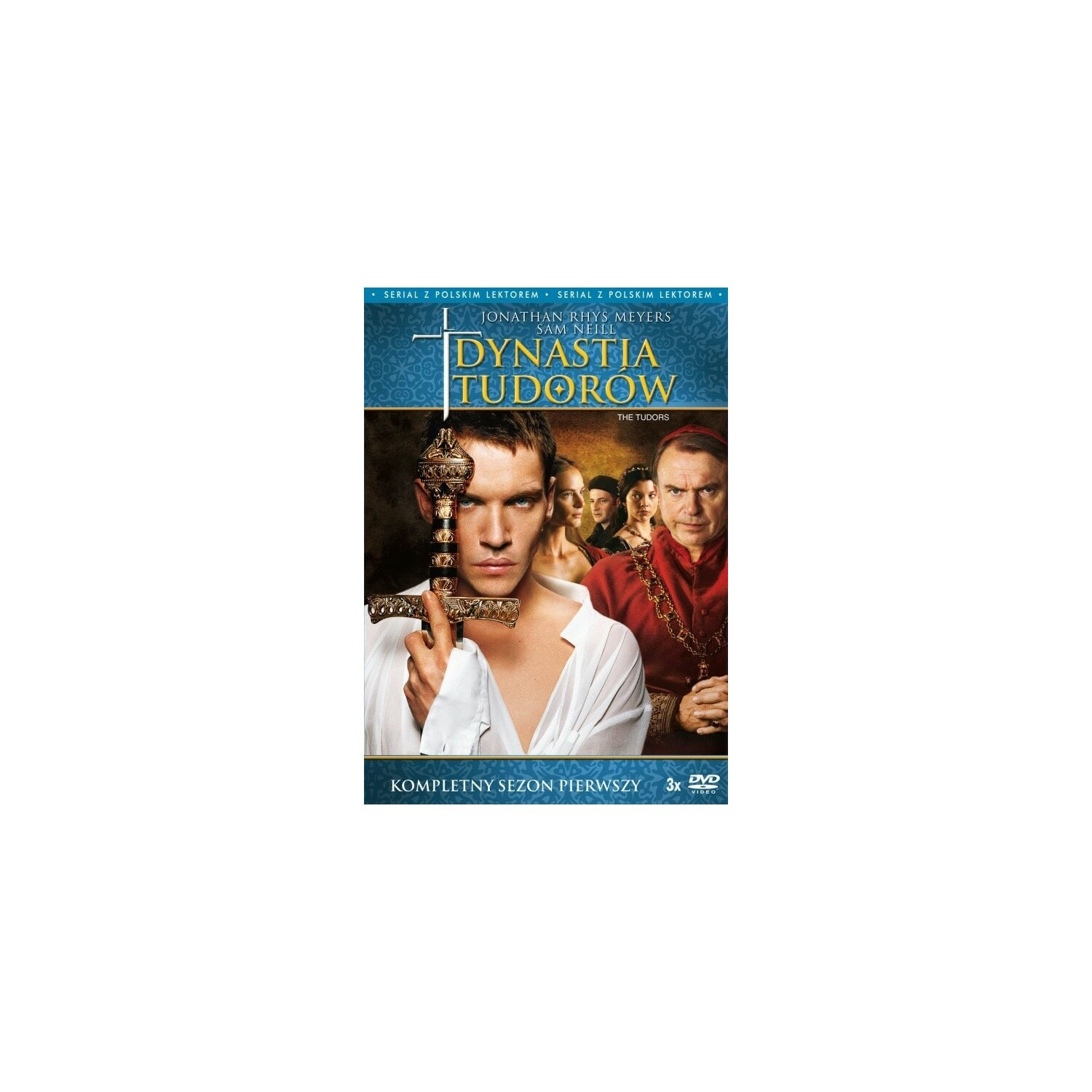 Dynastia Tudorów Sezon 1 (3 DVD) The Tudors