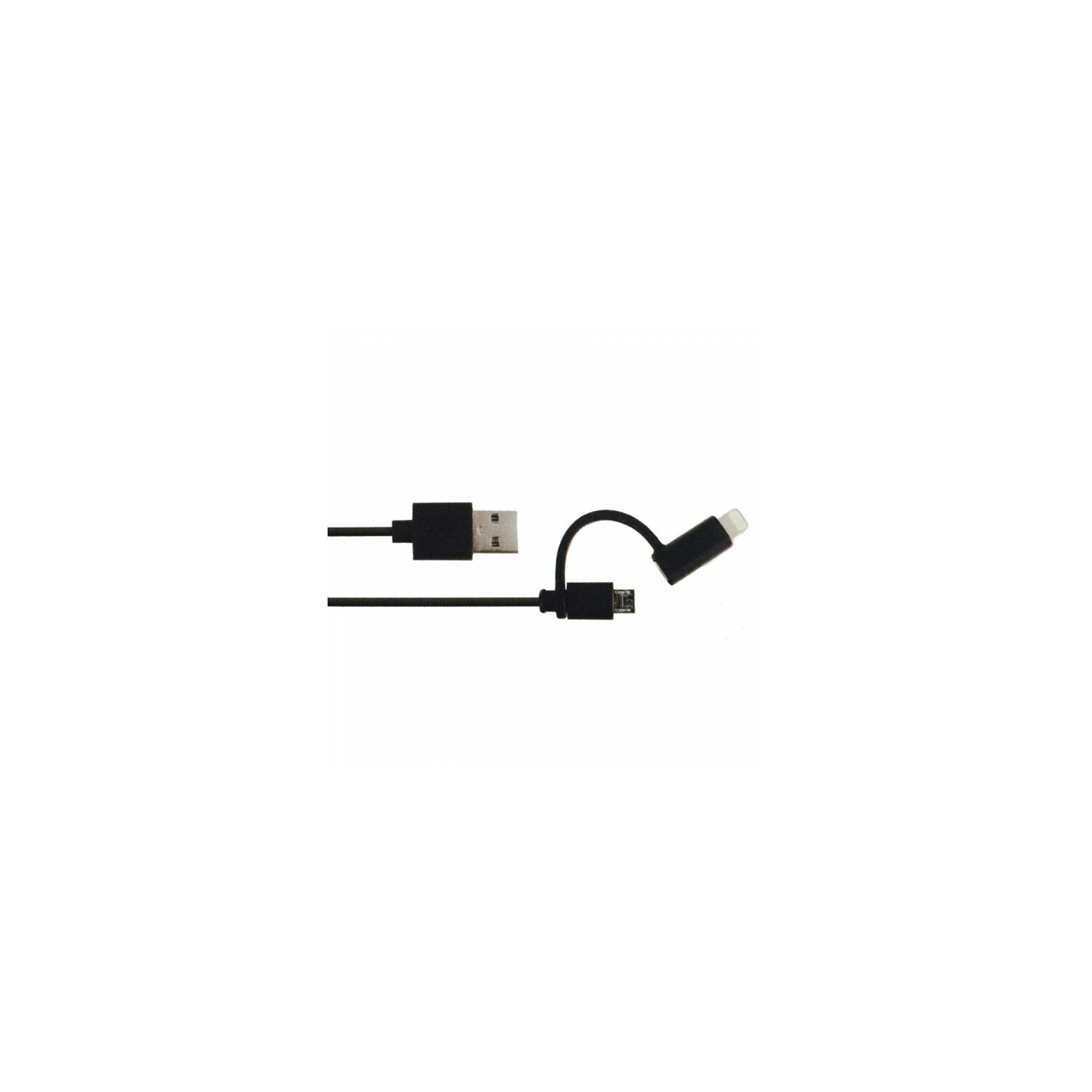 Kabel GP USB - Micro USB Lighting  CB18M-B1 Czarny