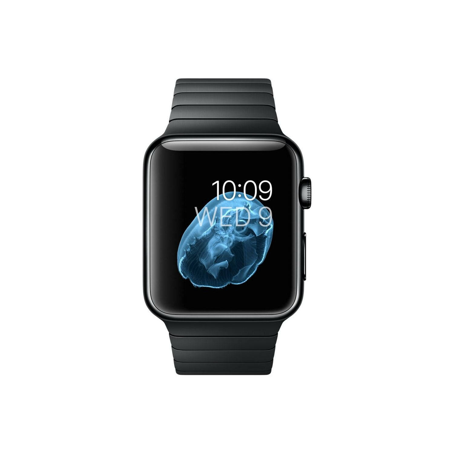 space black stainless steel watch - 600×600