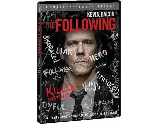 Following. Sezon 3 (4 DVD)