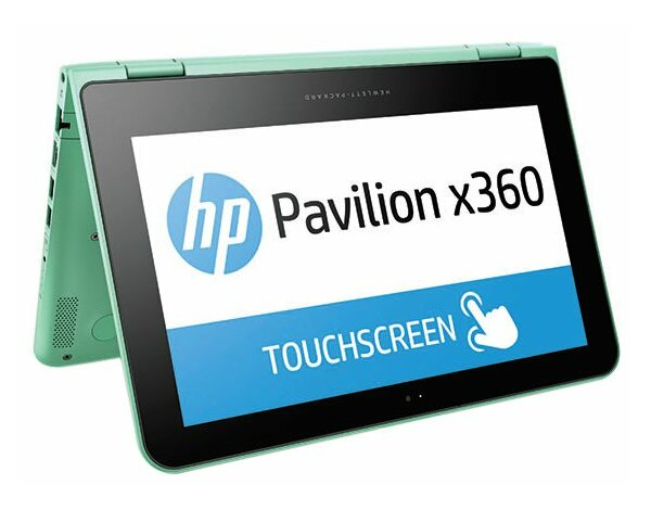 Laptop HP Pavilion x360 11-k114nw Zielony