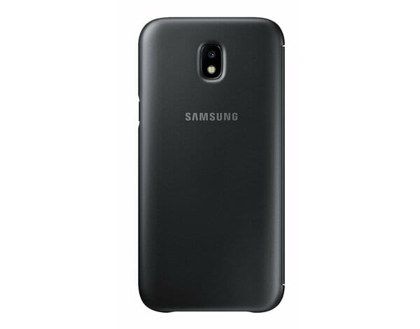 Etui SAMSUNG Wallet Cover do Galaxy J5 (2017) Czarny EF-WJ530CBEGWW