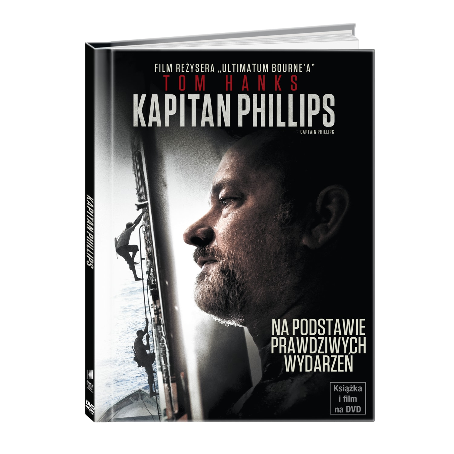 Kapitan Phillips (booklet DVD)
