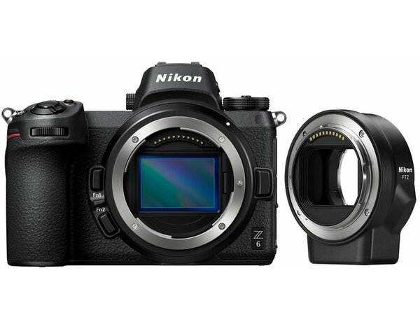 Aparat NIKON Z6 Body + adapter FTZ