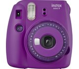 Aparat FUJIFILM Instax mini 9 Clear Purpurowy