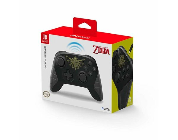 Kontroler bezprzewodowy HORI Wireless Pro Horipad Controller Zelda Edition do Nintendo Switch