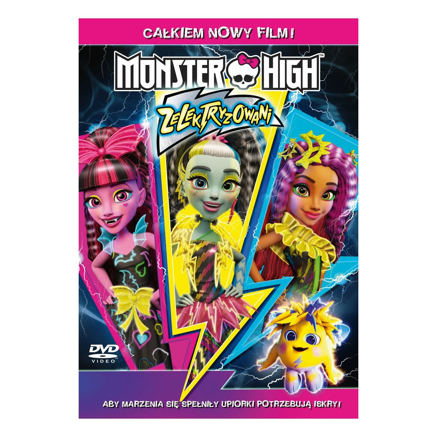 Monster High: Zelektryzowani (DVD)