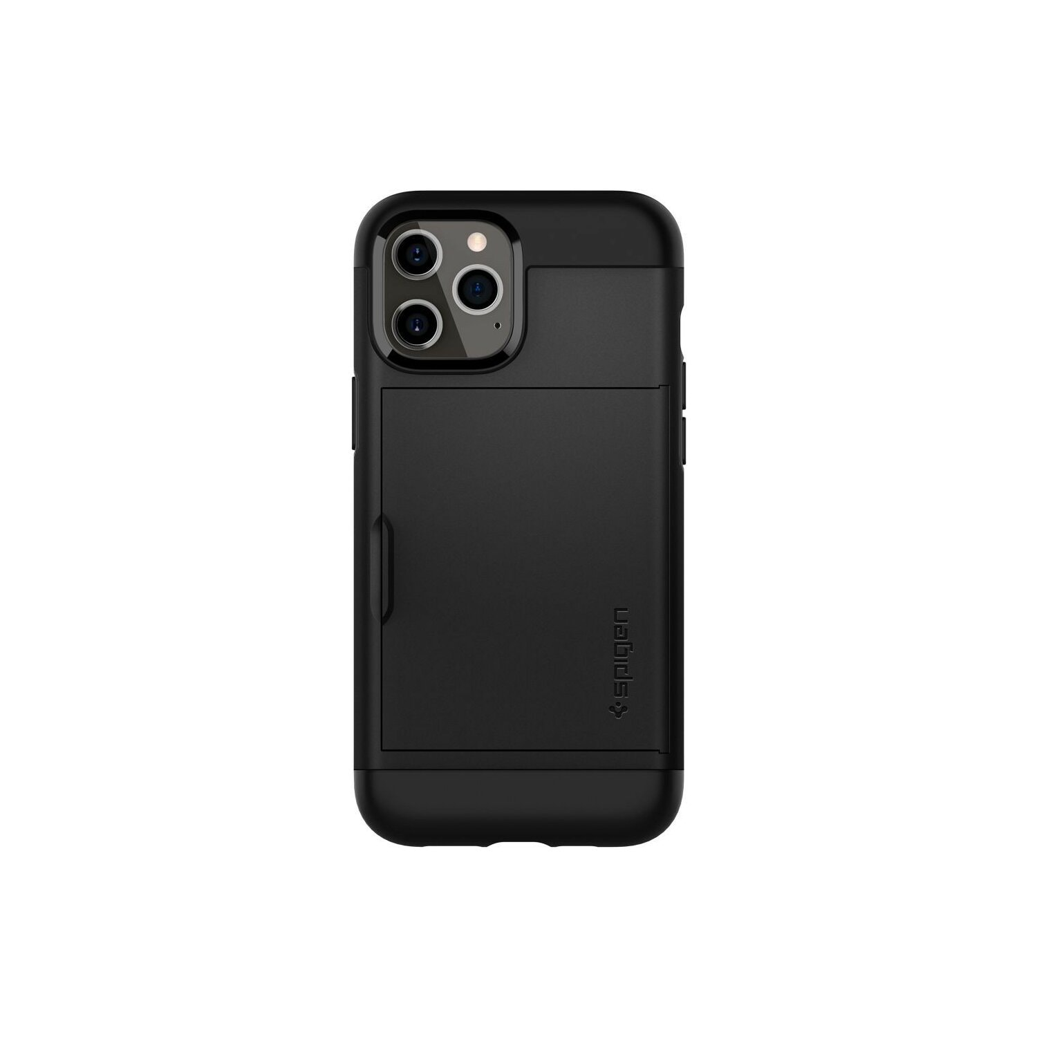 Etui SPIGEN Slim Armor CS do Apple iPhone 12/iPhone 12 Pro Czarny