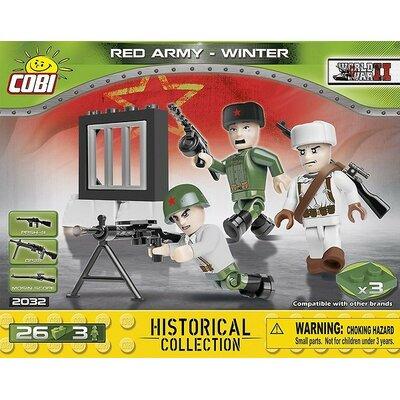 World War II - Red Army-Winter COBI-2032 Klocki COBI