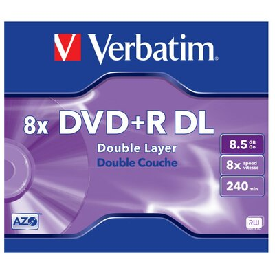 Płyta VERBATIM DVD+R DL 1szt.